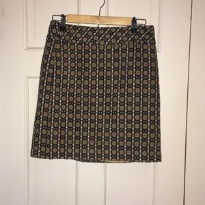 Fun casual lined skirt